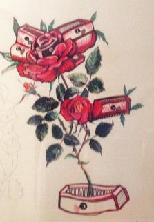 Rosa Et Morte Flaricens 1972 Limited Edition Print - Salvador Dali