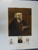 Changes in Great Masterpieces Rembrandt 1974 Limited Edition Print by Salvador Dali - 1