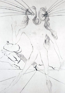 Bicafacale (Les Amours De Cassandre) 1968 (early) Limited Edition Print by Salvador Dali