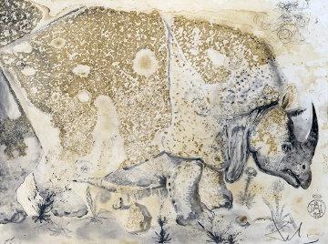 Le Rhinoceros 1970 Limited Edition Print by Salvador Dali