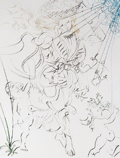 L'Automne 1970 Limited Edition Print by Salvador Dali