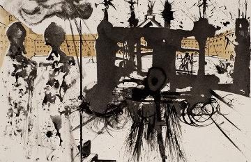 Le Portique (La Vie Est Un Songe) 1970 Limited Edition Print - Salvador Dali