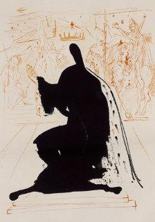 Personnage Au Manteau D'hermine (La Vie Est Un Songe) 1970 (Early) Limited Edition Print - Salvador Dali