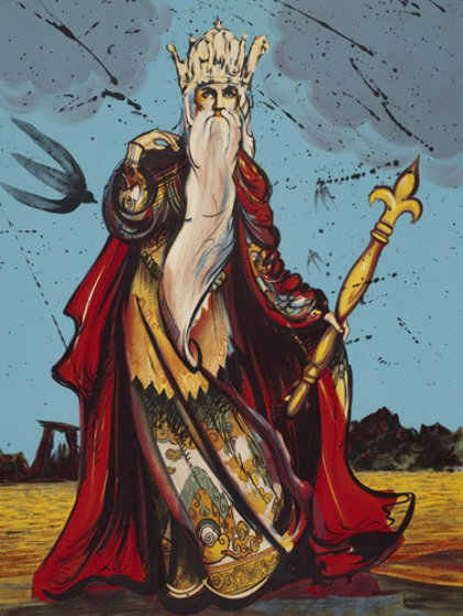 Moise (Moses) 1973 Limited Edition Print by Salvador Dali