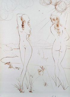 Le Miroir Vivant 1973 Limited Edition Print - Salvador Dali