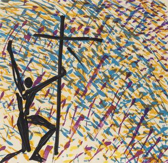 Le Pouvoir De La Croix (Les Vitraux De Figueras) AP 1974 Limited Edition Print - Salvador Dali