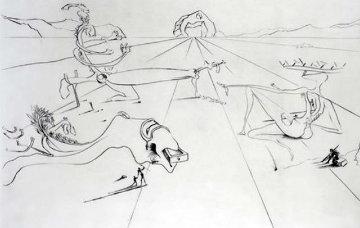 Paysage Surrealiste 1974 Limited Edition Print - Salvador Dali