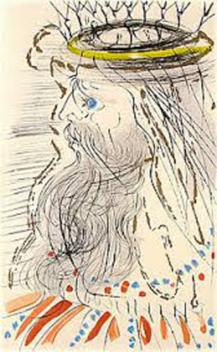 King Solomon Limited Edition Print by Salvador Dali