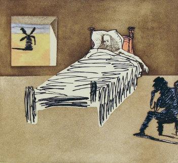 Le Legacy: Don Quixote Man of La Mancha 1960 (Early) Limited Edition Print by Salvador Dali