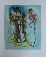 Rowena, From Ivanhoe 1978 Limited Edition Print by Salvador Dali - 1
