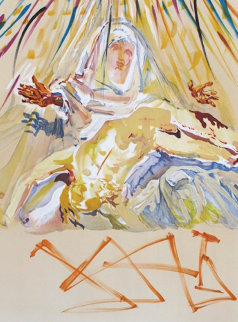 La Pieta Nera 1973 Limited Edition Print by Salvador Dali