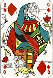 Queen of Diamonds, Playing Cards 1972 Limited Edition Print by Salvador Dali - 0