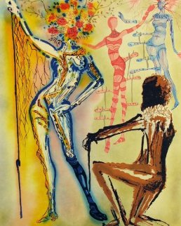 Fashion Designer 1980 Limited Edition Print - Salvador Dali