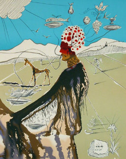 Earth Goddess (Chef) 1980 Limited Edition Print - Salvador Dali