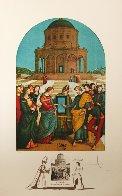 Raphael Le Marriage De La Vierge 1974 Limited Edition Print by Salvador Dali - 1