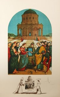 Raphael Le Marriage De La Vierge 1974 Limited Edition Print by Salvador Dali