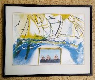 Currier and Ives: American Yacht Racing 1971 Limited Edition Print by Salvador Dali - 2