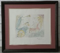 Euterpe 1971 Limited Edition Print by Salvador Dali - 2