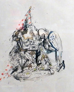 Fantomes Le Soupirant 1968 (early) Limited Edition Print - Salvador Dali