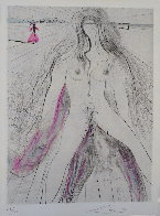 La Venus Aux Fourrures Woman on Horse 1968 (Early) Limited Edition Print by Salvador Dali - 0