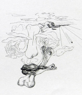 Les Chants De Maldoror 1934 (Early) Limited Edition Print - Salvador Dali