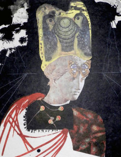 Memories of Surrealism Crazy Crazy Crazy Minerva 1971 (Early) Limited Edition Print - Salvador Dali