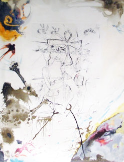 Moses And Monotheism Moses and Akhenaton 1975 Limited Edition Print by Salvador Dali