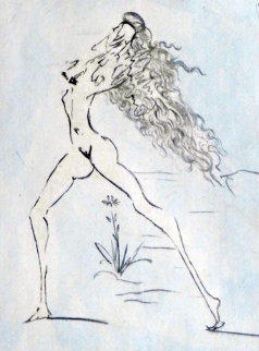Petites Nus (From Apollinaire) E 1972 Limited Edition Print - Salvador Dali