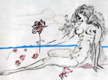 Petites Nus (From Apollinaire) H 1972  Limited Edition Print by Salvador Dali