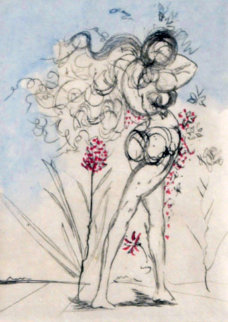 Petites Nus (From Apollinaire, J) 1972 Limited Edition Print by Salvador Dali