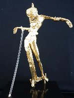 Women With Head of Roses Bronze Sculpture 1981 13 in Sculpture by Salvador Dali - 1