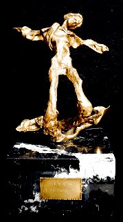 Winged Triton Bronze Sculpture 1972 9 in Sculpture - Salvador Dali