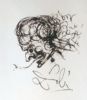 Devil Symbols 1970 Limited Edition Print - Salvador Dali