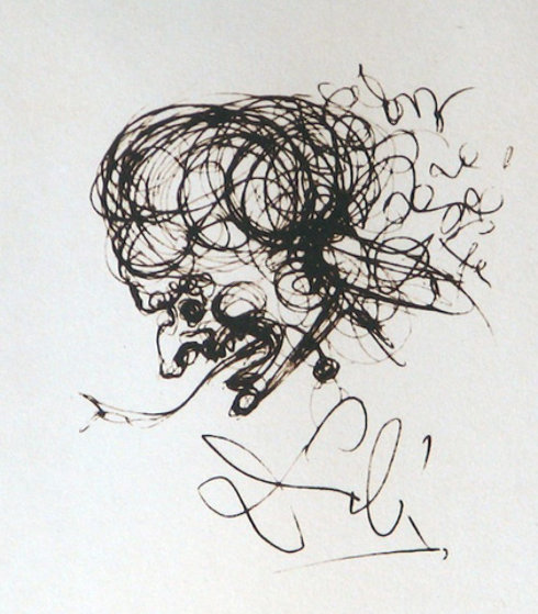 Devil Symbols 1970 Limited Edition Print by Salvador Dali
