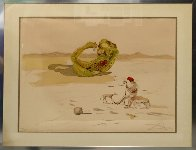 Desert Watch, From Time Series 1976  Limited Edition Print by Salvador Dali - 1