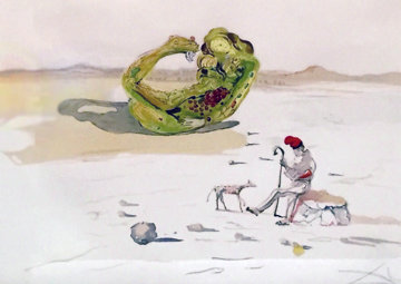 Desert Watch, From Time Series 1976  Limited Edition Print - Salvador Dali