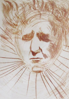 David Ben-Gurion 1968 Limited Edition Print - Salvador Dali