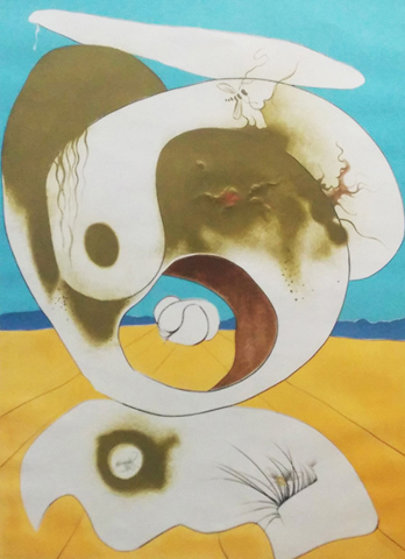 Vision Planetaire Et Scatologic 1974 Limited Edition Print by Salvador Dali