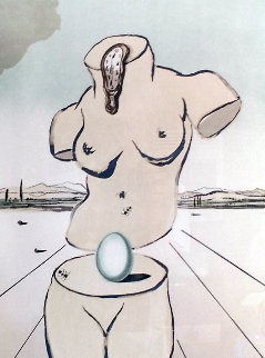 Birth of Venus 1979 Limited Edition Print by Salvador Dali