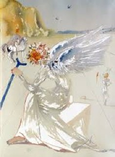 Homage to Homer Suite Return of Ulysses And Helen of Troy, Suite of 2 1977 AP Limited Edition Print by Salvador Dali