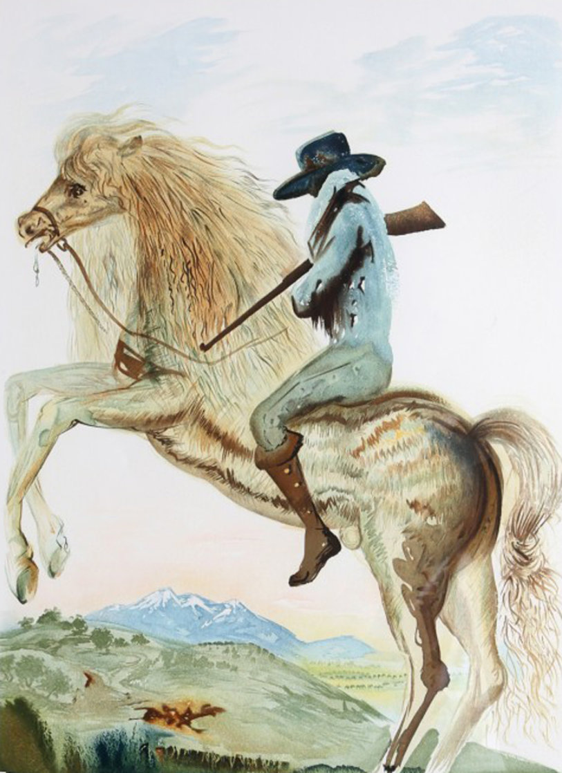 Caballero 1968 (Early) Limited Edition Print by Salvador Dali