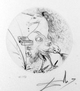 Les Metamorphoses Erotiques 1969 (Early) Limited Edition Print by Salvador Dali
