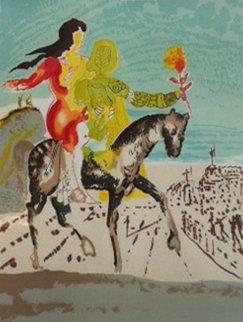 New Jerusalem Suite: The Messiah 1980 Limited Edition Print by Salvador Dali