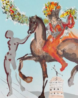 New Jerusalem Suite: The Harbinger, 1980 Limited Edition Print by Salvador Dali