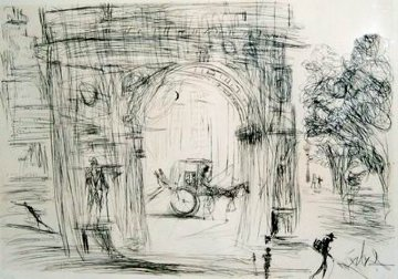 Washington Gate  1964 (Early) Limited Edition Print by Salvador Dali
