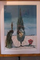 Enigma of the Rose 1976 Limited Edition Print by Salvador Dali - 1