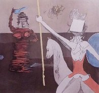 Off To Battle 1980 Limited Edition Print by Salvador Dali - 0