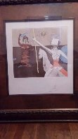 Off To Battle 1980 Limited Edition Print by Salvador Dali - 2