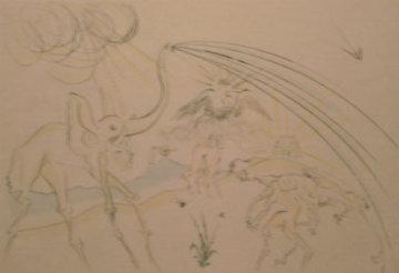 Les Animaux Malades de la Peste Limited Edition Print - Salvador Dali