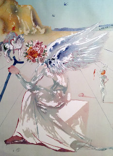 Homage a Homer Helen of Troy  1977 Limited Edition Print by Salvador Dali